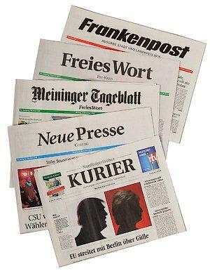 Frankenpost Freies Wort Meinigner Tagblatt Neue Presse Nordbayerischer Kurier